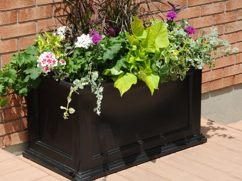 Large Rectangular Planters Canada