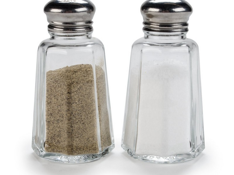 Large Salt And Pepper Shakers With Handles