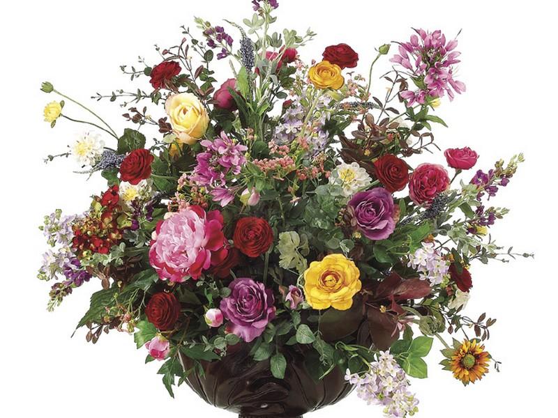 Large Silk Floral Arrangements