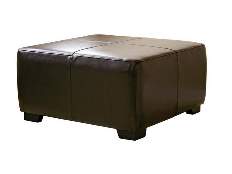 Large Square Cocktail Ottoman