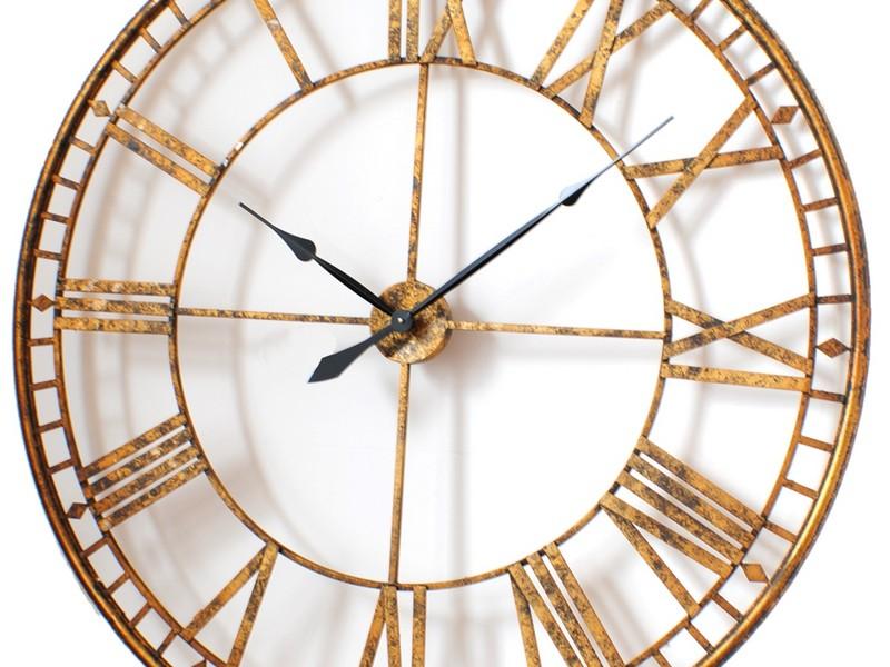 Large Vintage Wall Clock