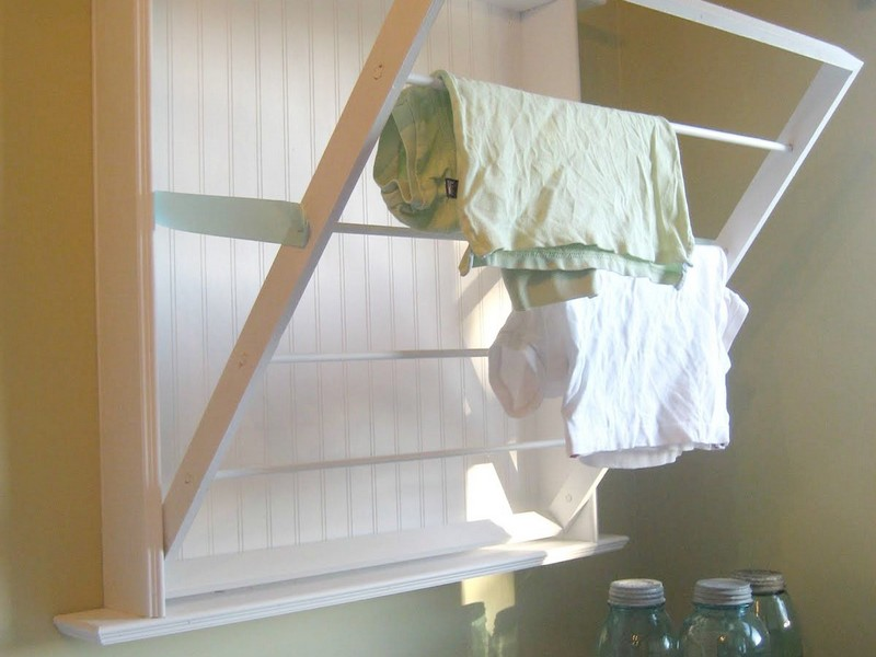 Laundry Wall Drying Rack