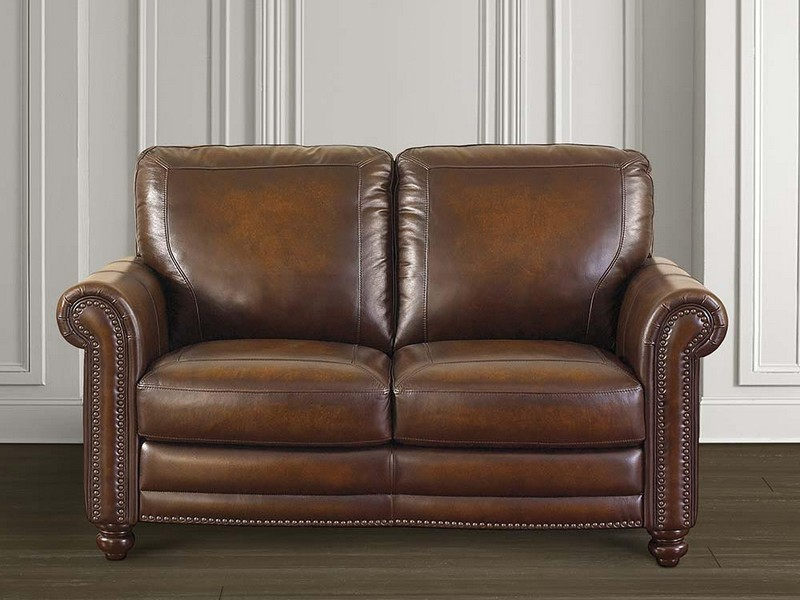 Lazy Boy Leather Reclining Loveseat