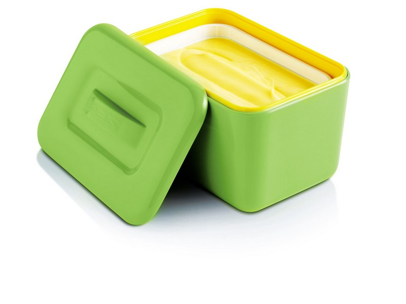 Le Creuset Butter Dish Green