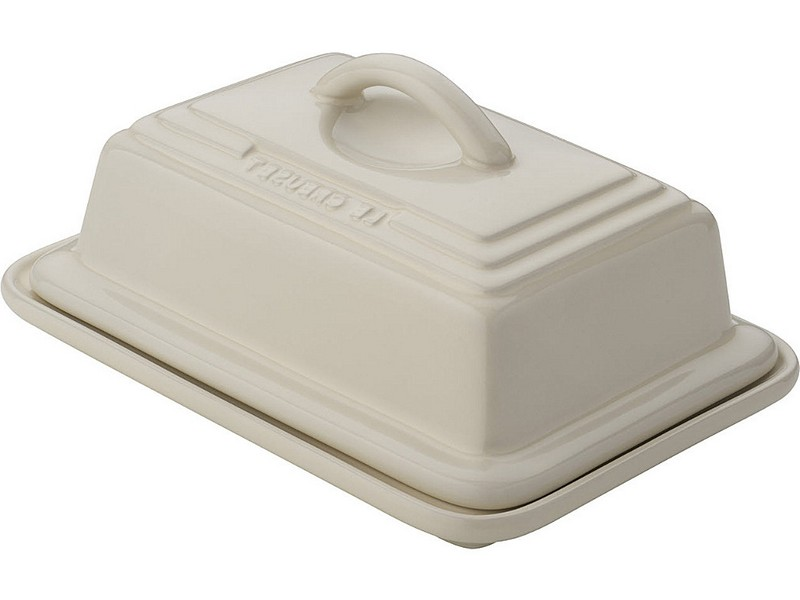 Le Creuset Butter Dish White