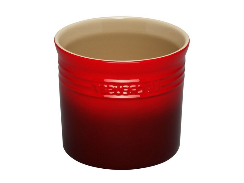 Le Creuset Utensil Holder Red