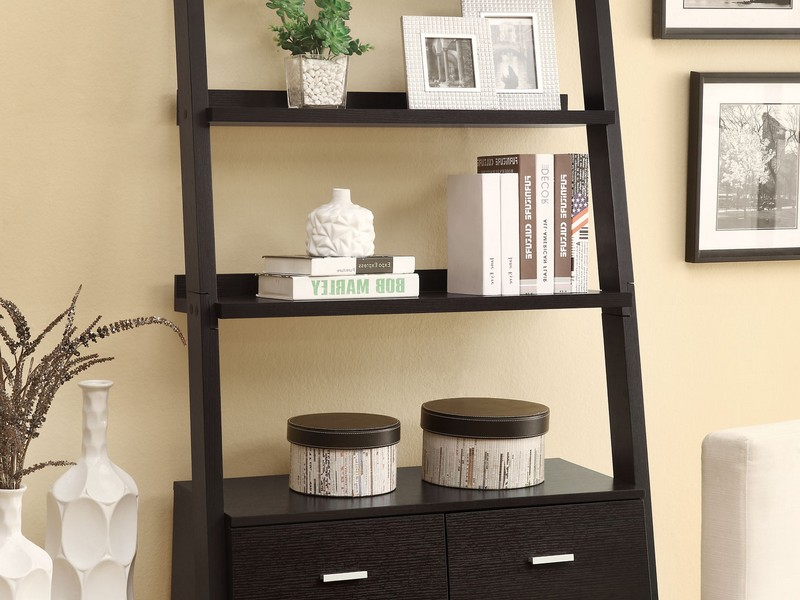 Leaning Wall Shelf
