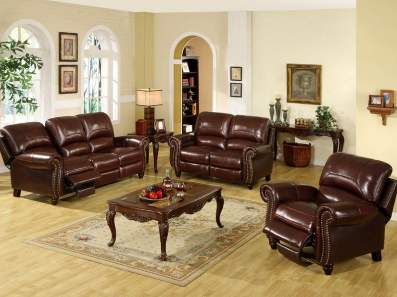 Leather Couch Recliner Electric