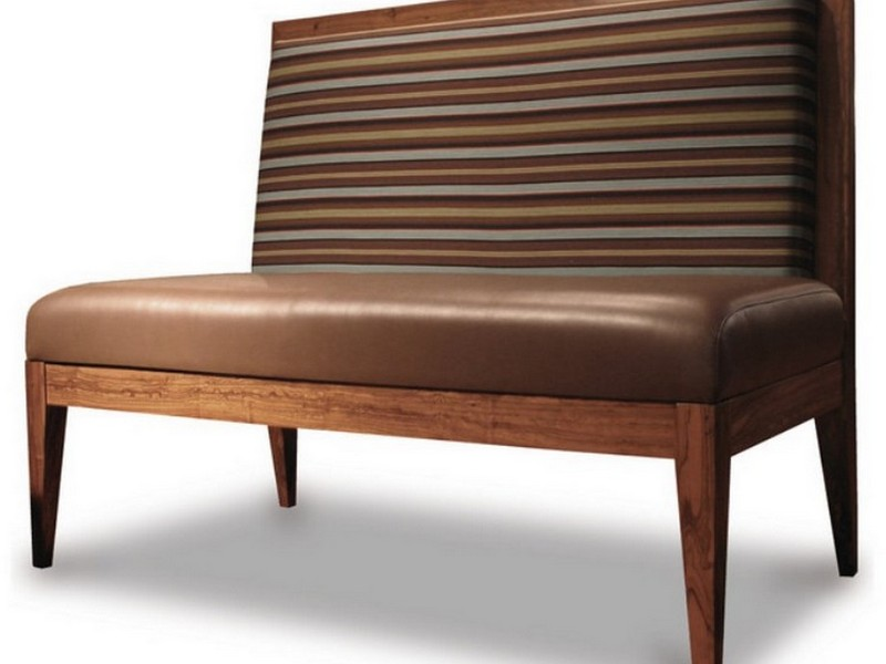 Leather Dining Benches With Backs
