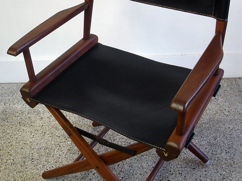 Leather Directors Chair Covers
