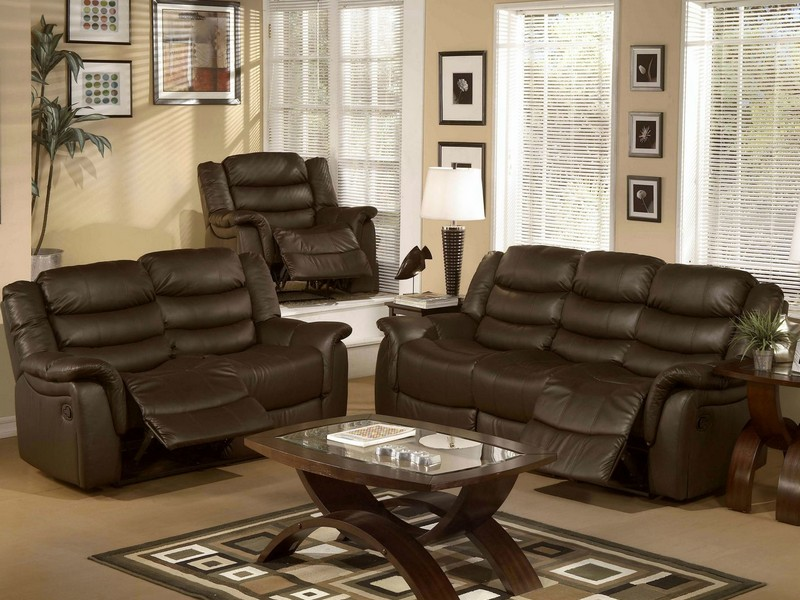 Leather Loveseat And Sofa Set