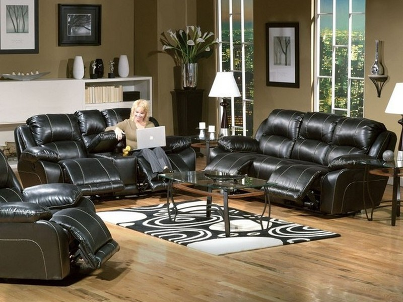 Leather Power Reclining Sofa Sets