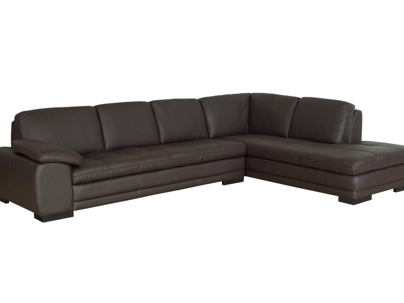 Leather Sectional Sleeper Recliner