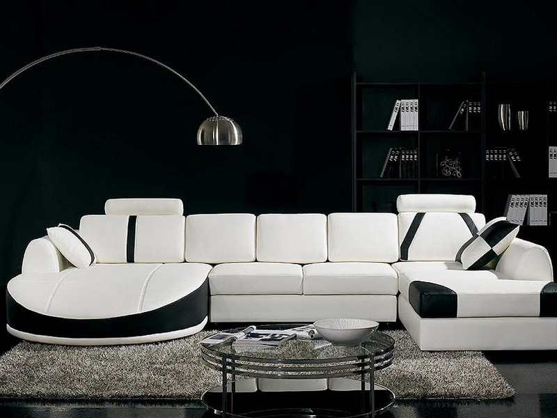 Leather Sectional Sofas Modern