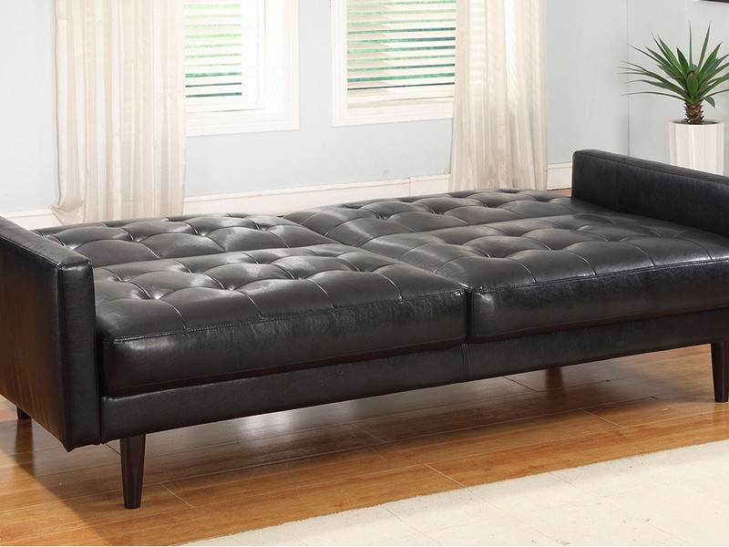 Leather Sofa Sleepers Full Size