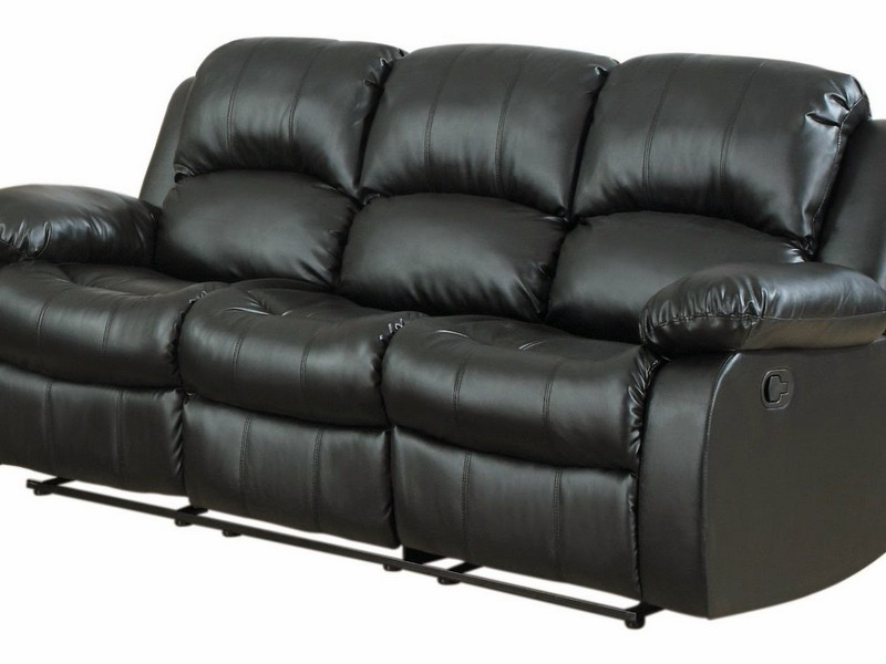 Leather Swivel Recliner Rocker Chair