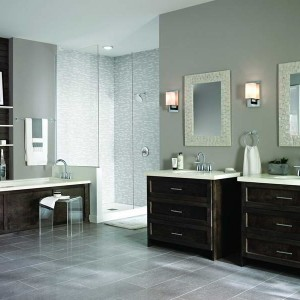 Led Bathroom Faucets Brushed Nickel