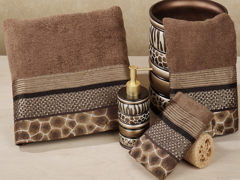 Leopard Bath Towels Clearance