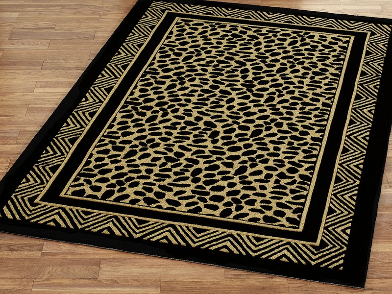 Leopard Print Area Rug Target