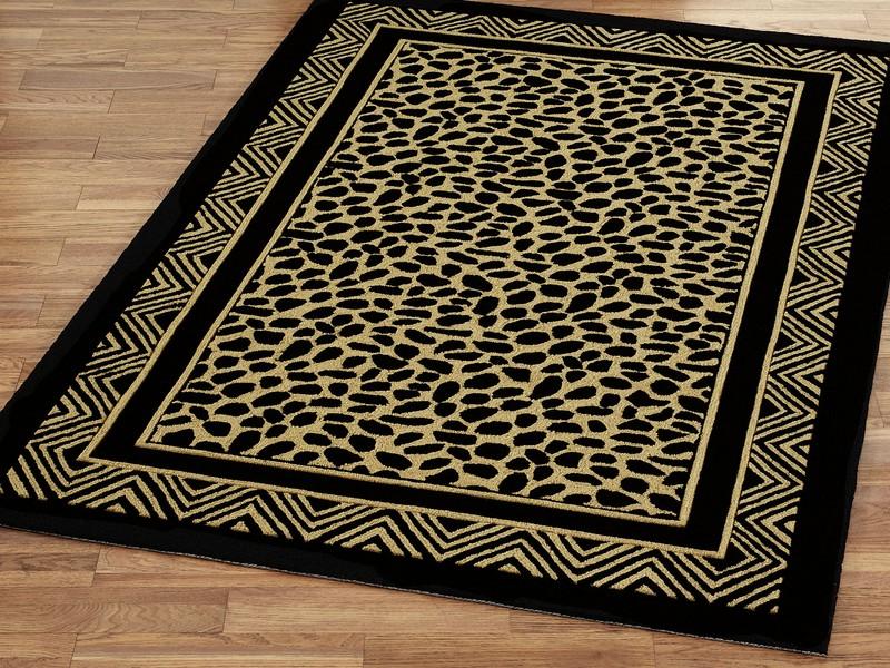 Leopard Print Area Rugs