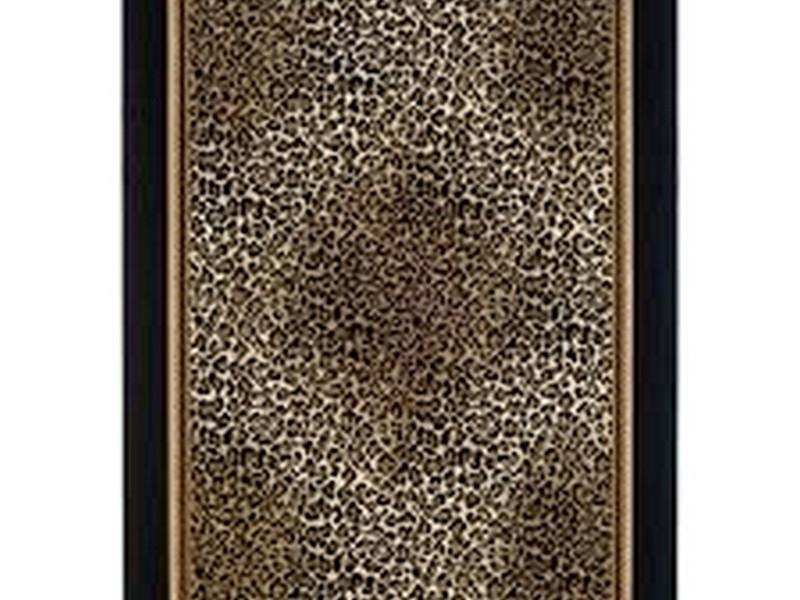 Leopard Print Bath Rugs