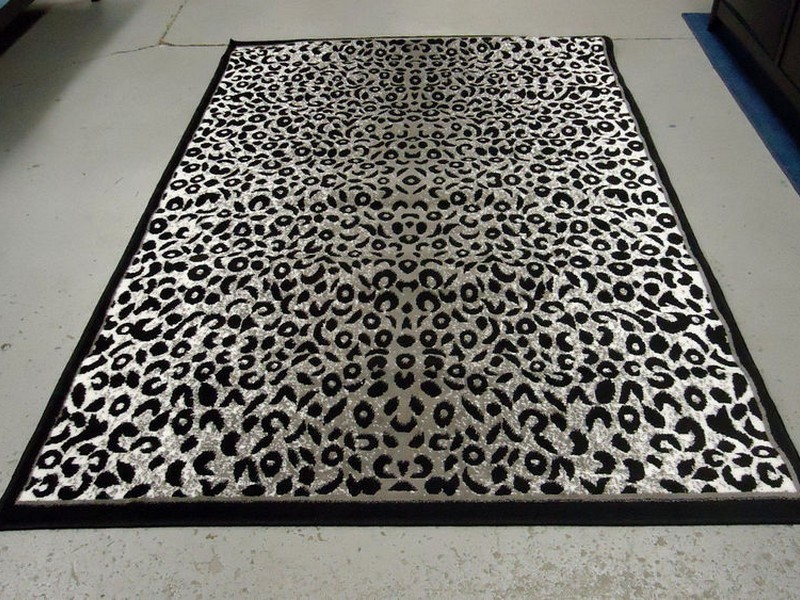 Leopard Print Rugs Cheap