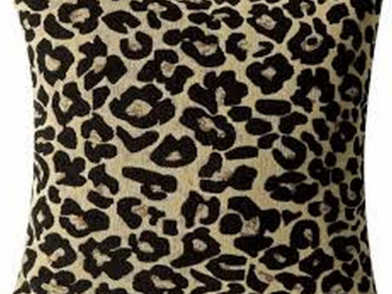 Leopard Print Throw Pillows