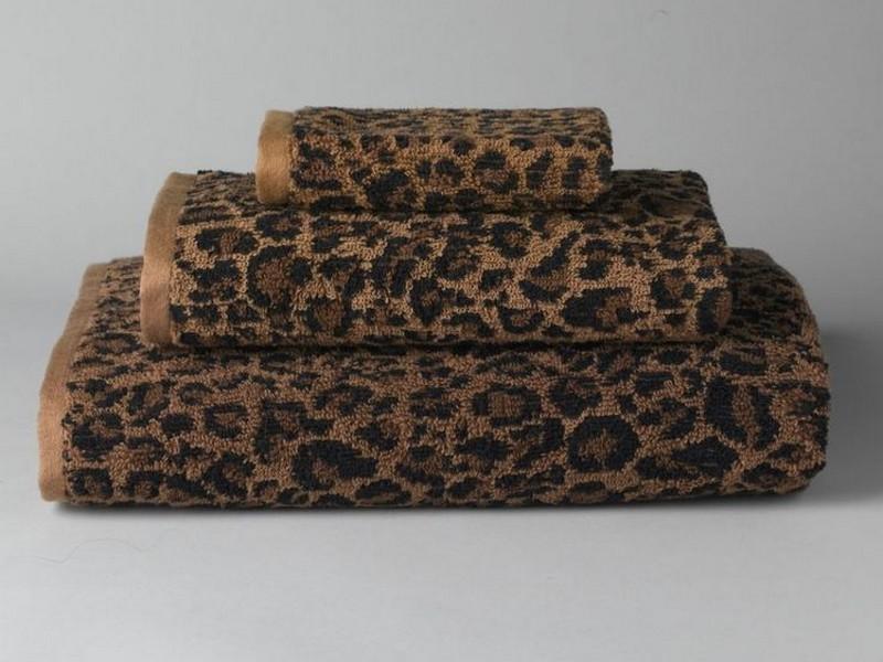 Leopard Print Towels Ralph Lauren