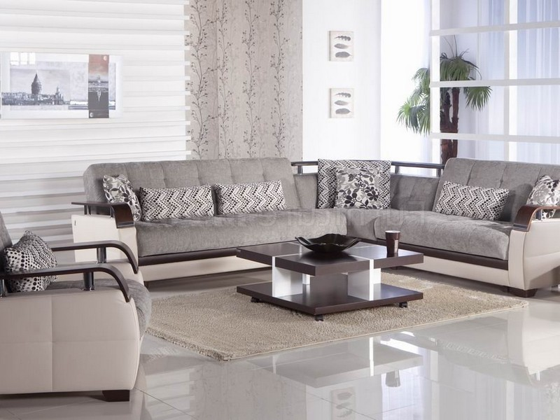 Light Gray Sectional Couch