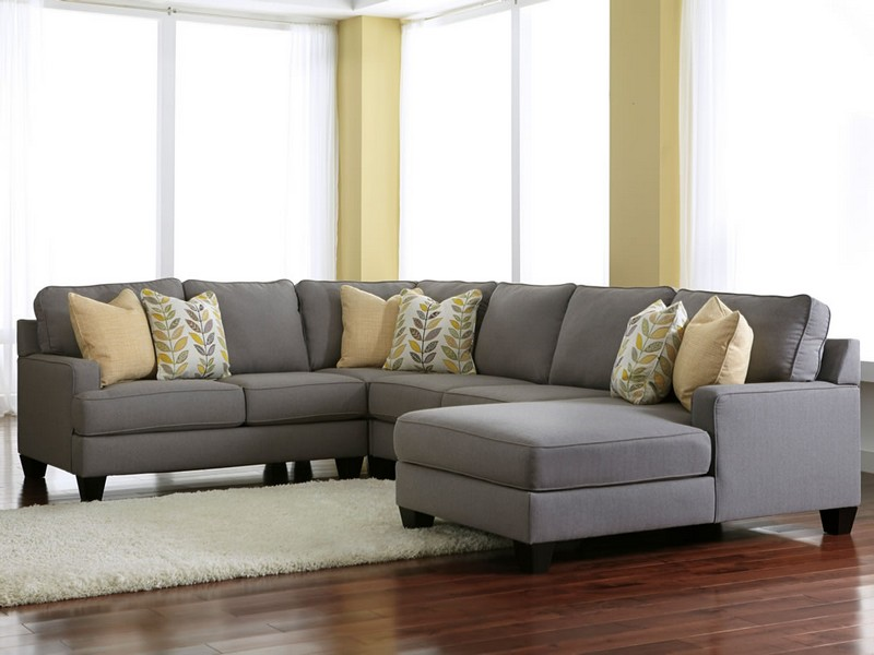 Light Grey Sectional Couch