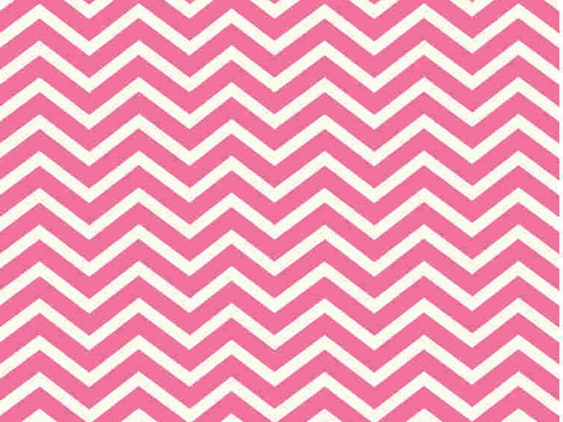 Light Pink Chevron Rug