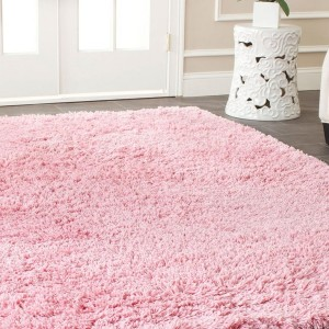 Light Pink Shag Rug