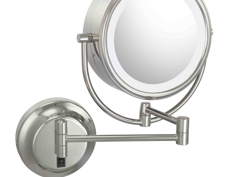 Lighted Makeup Mirror Wall Mounted Hardwired