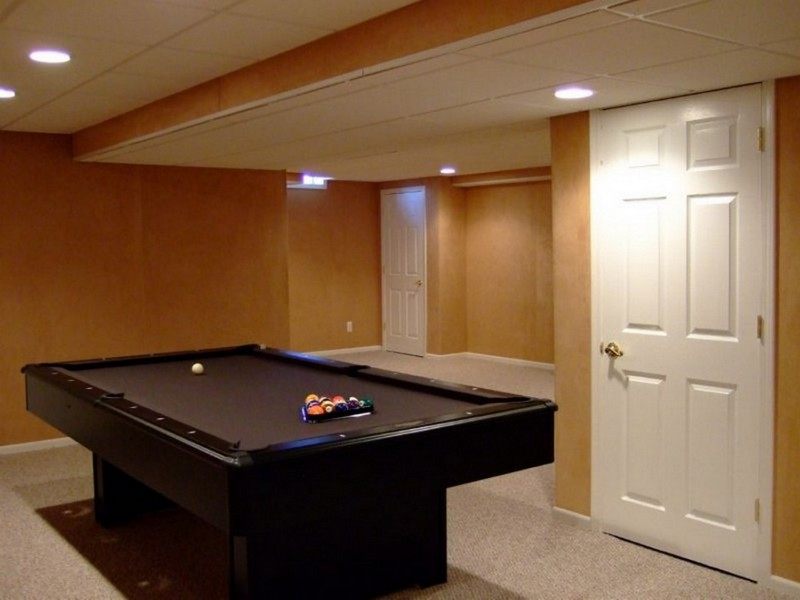 Lighting For Low Ceilings In Basement