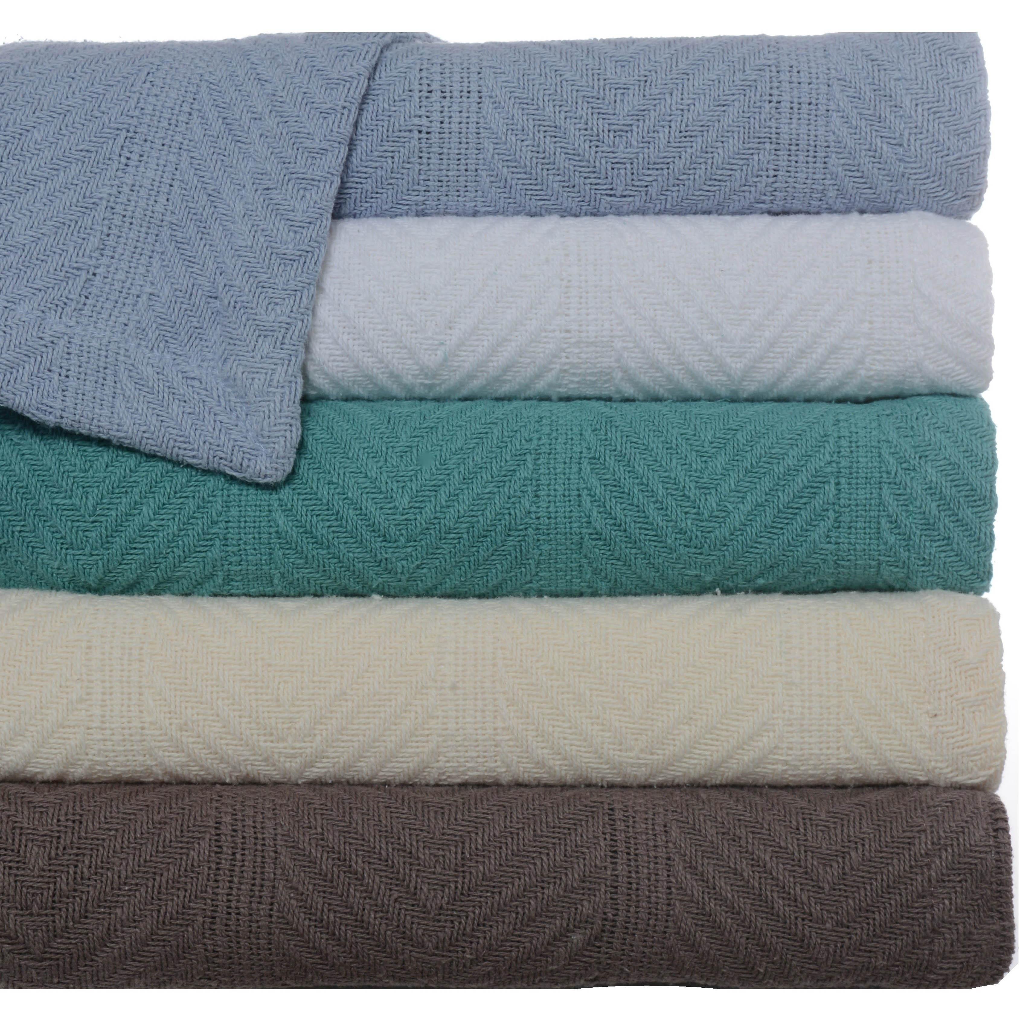 Lightweight Cotton Blanket Twin