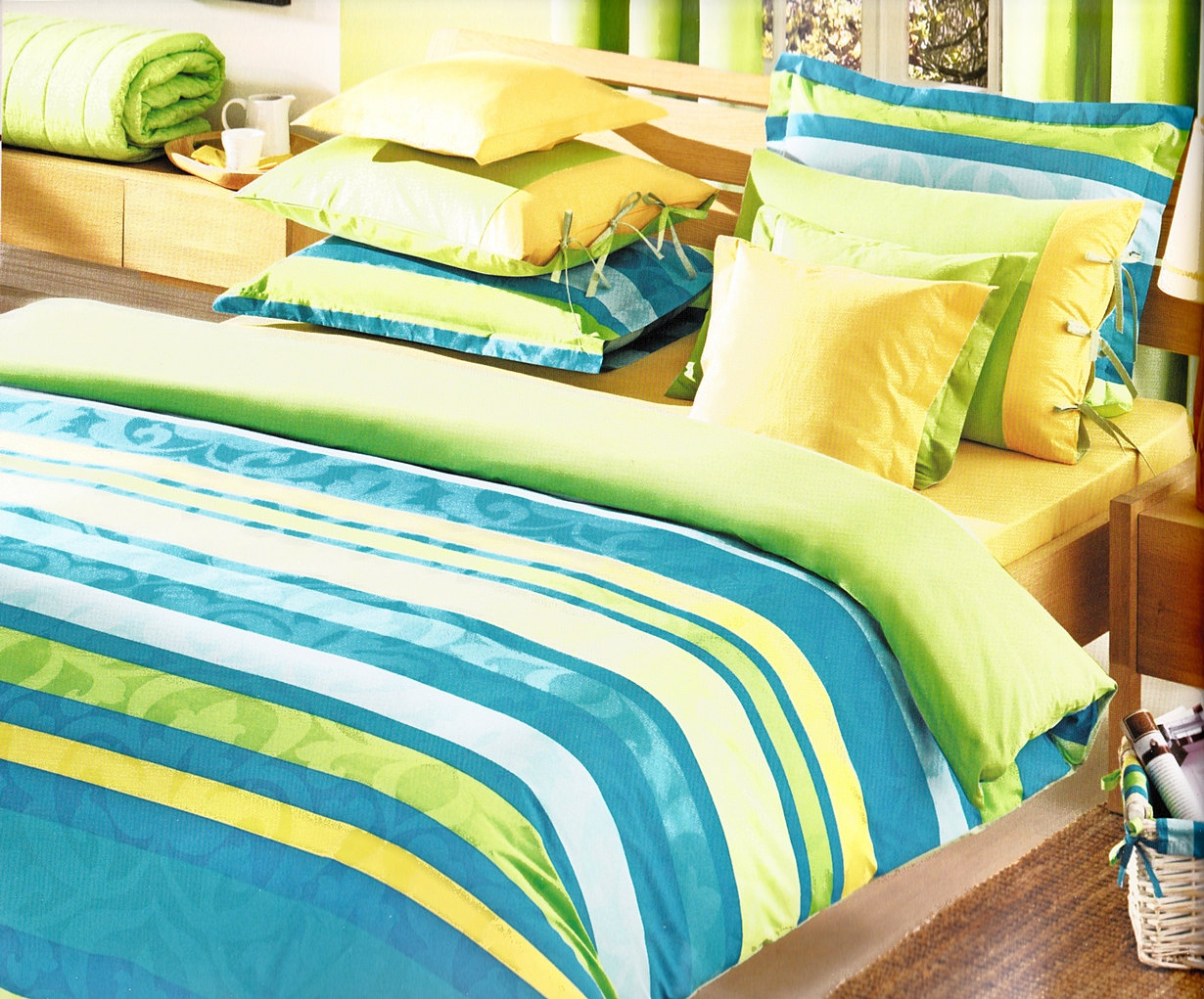 Lime Green Bed Sheets Full