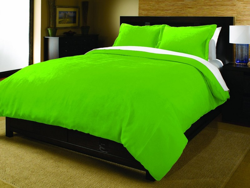 Lime Green Bed Sheets Queen