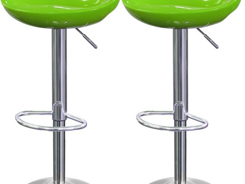 Lime Green Breakfast Bar Stools