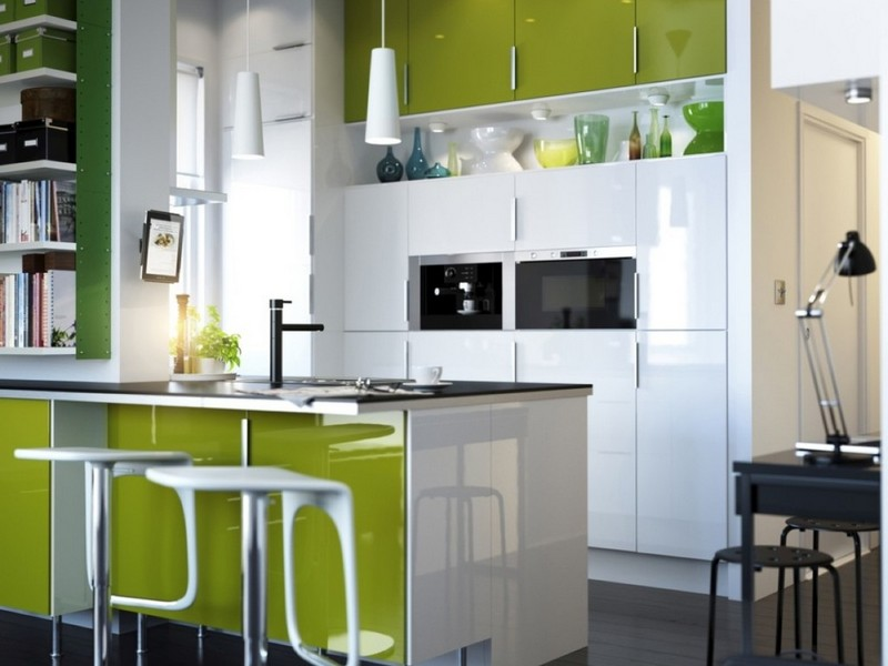 Lime Green Kitchen Bar Stools