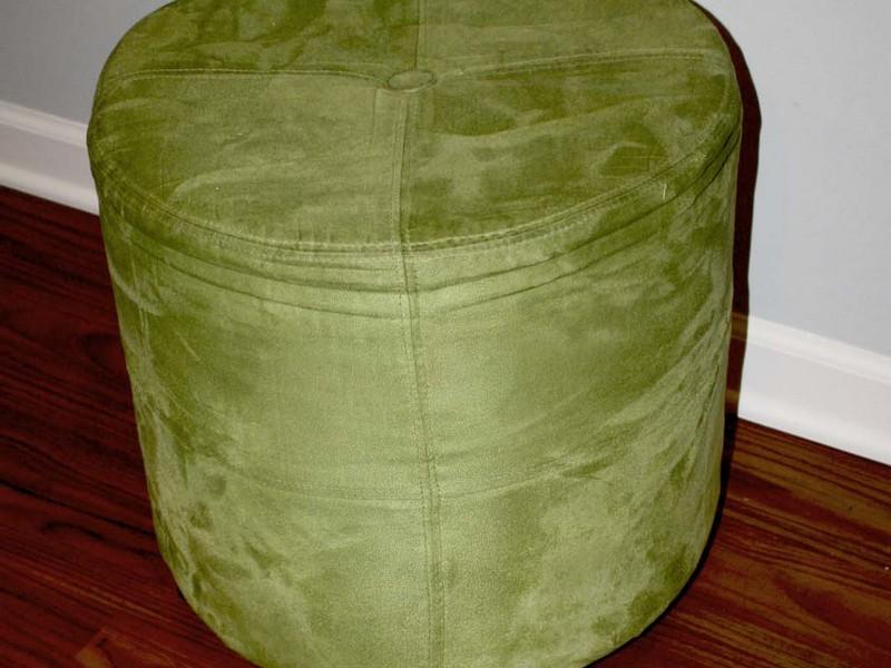 Lime Green Ottoman