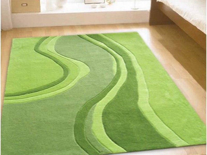 Lime Green Rugs