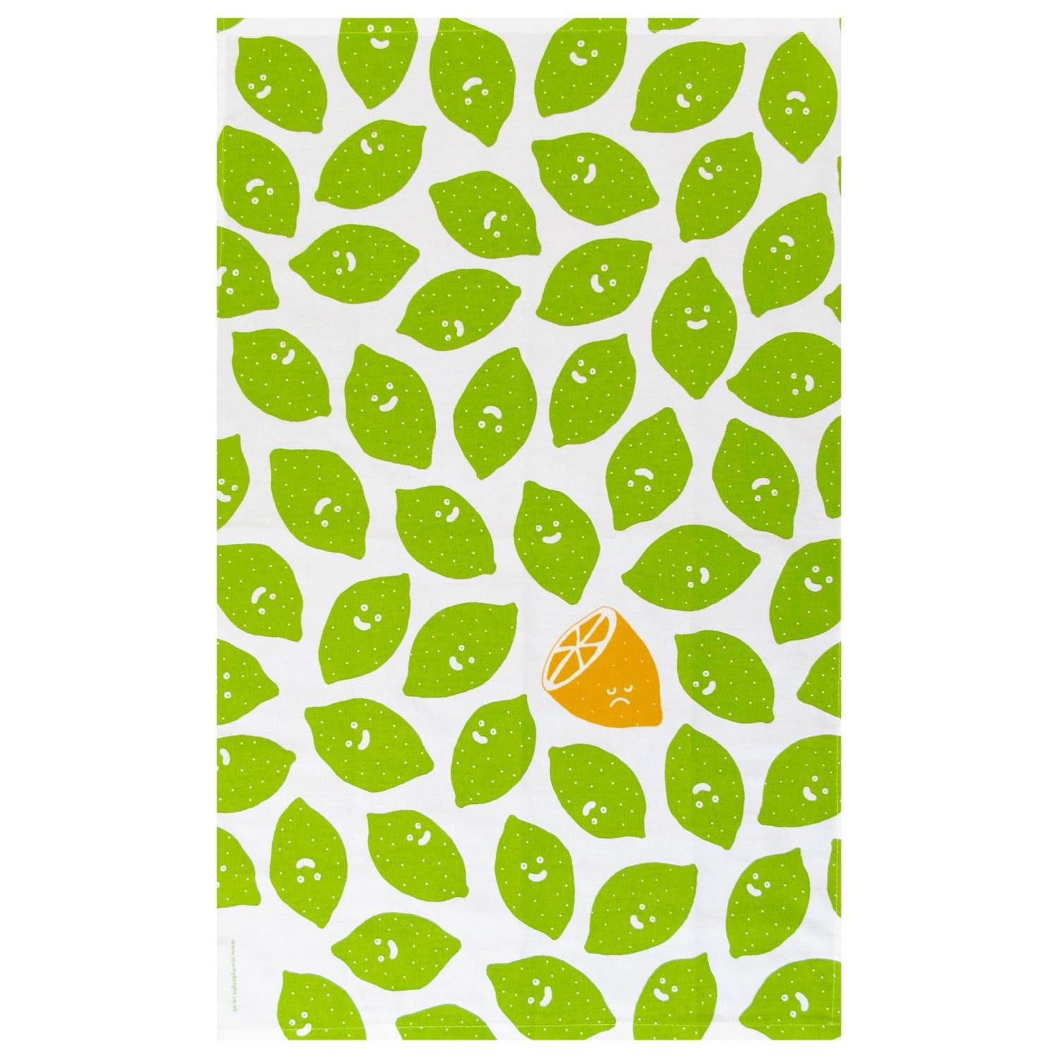Lime Green Tea Towels