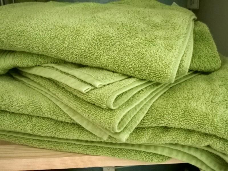 Lime Green Towels Tesco