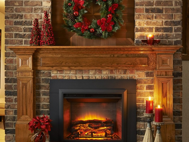 Linear Electric Fireplace Insert