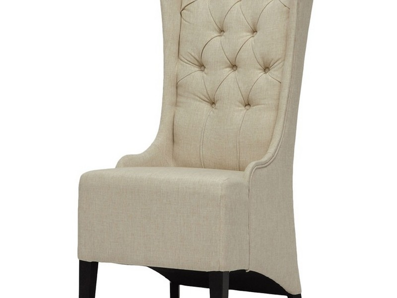 Linen Accent Chair
