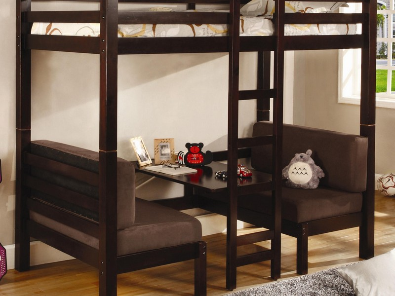 Lofted Twin Bed Frame