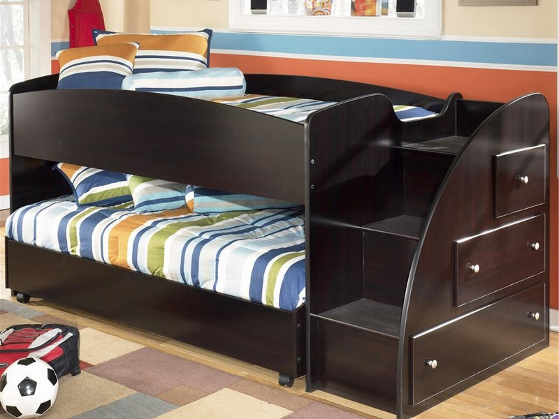 Lofted Twin Bed