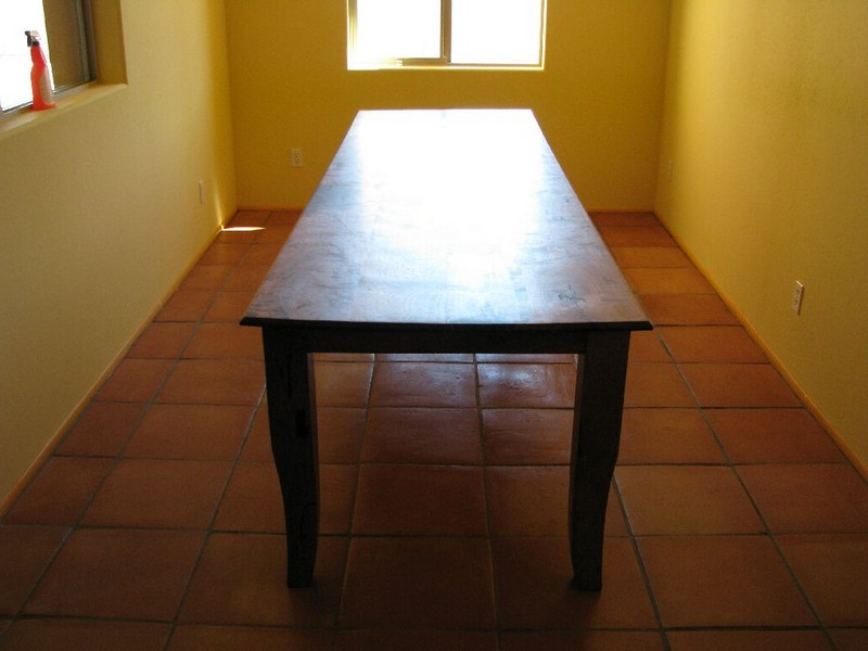 Long Narrow Dining Room Tables