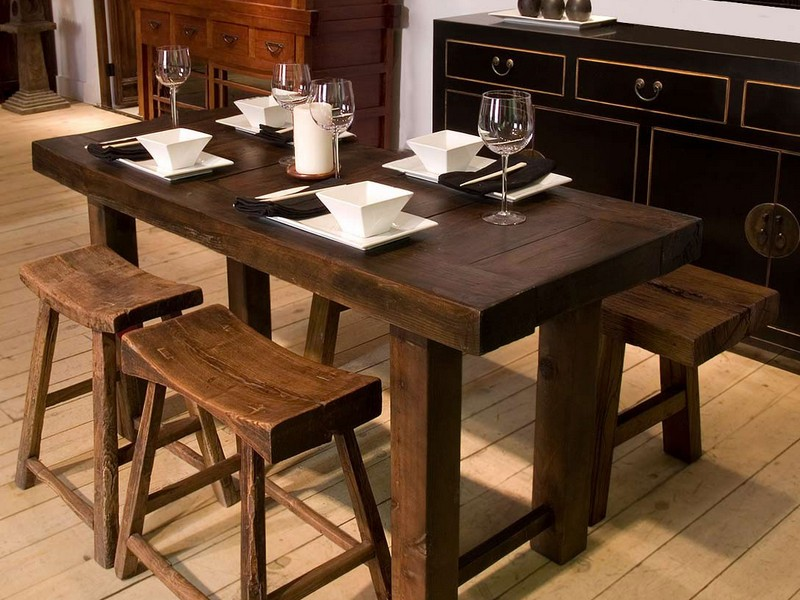 Long Narrow Kitchen Table