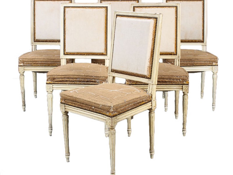 Louis Xvi Dining Chairs